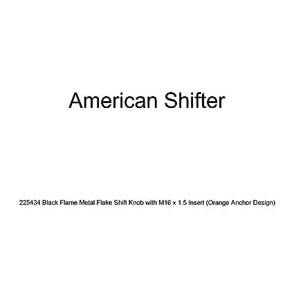 American Shifter 124226 Green Stripe Shift Knob with M16 x 1.5 Insert Black JDM Band-Aid