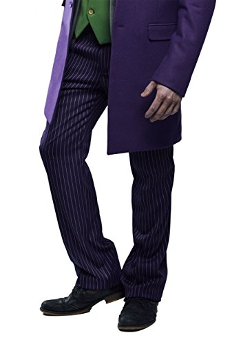 The Joker Suit Pants (Authentic) - 34 - Purple Suit Pants