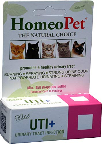 Feline UTI+ HomeoPet Plus Urinary Tract Infection, 450 Drops