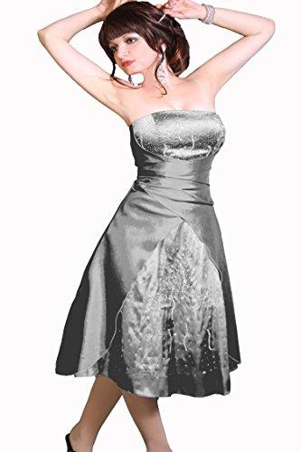 Christine Juju Silber Farbe und Abendkleid Damen Größe Cocktail 8xC6AwUxq