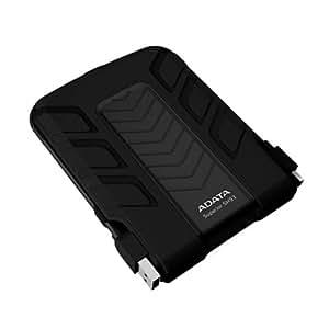 "ADATA SH93 Portable 500GB - Disco duro externo (500 GB, SATA, 63.5 mm (2.5 ""), 129 mm, 97 mm, 19.2 mm) Negro"