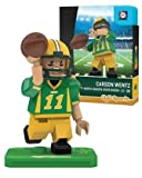 NCAA North Dakota State Bison Carson Wentz Gen 2 Player Mini Figure, Small, Black