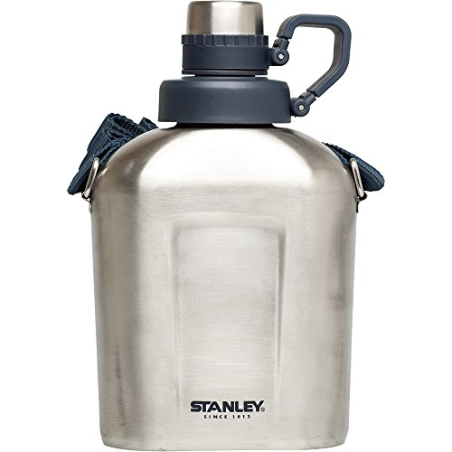 Outdoor 1.1 Quart Bottle (Stanley Canteen Water Bottle, Stainless Steel, 1.1 quart)