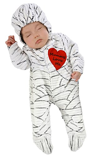 Princess Paradise Baby's Mummy Loves Me Deluxe Costume, As Shown, (Halloween Baby Costumes 2017)