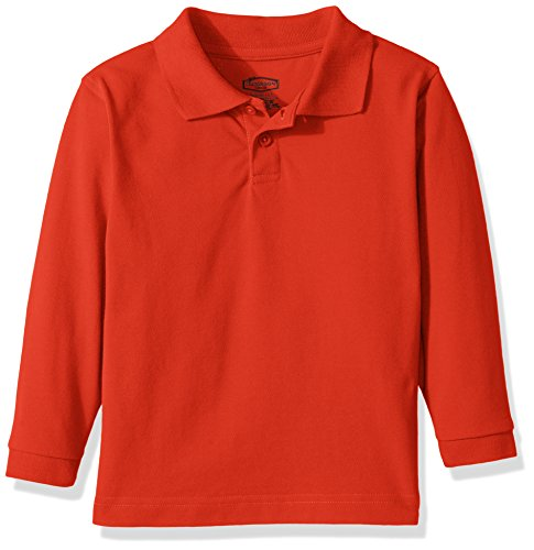 Classroom Toddler Kids Preschool Unisex Long Sleeve Pique Polo – DiZiSports Store