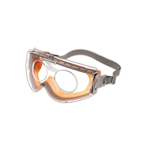 Brown//Orange Standard Honeywell S3959 Uvex Rx Carrier for Stealth Protective Goggles