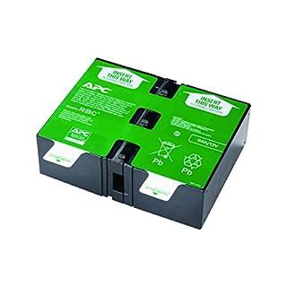 APC UPS Battery Replacement, APCRBC124, for APC UPS Models BX1500M, BR1500G, BR1300G, SMC1000-2U, SMC1000-2UC, BR1500GI, BX1500G, SMC1000-2U, SMC1000-2UC, and select others