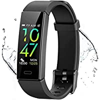 Qniceone Fitness Tracker with Blood Pressure Heart Rate Sleep Monitor, Sport Smart Bracelet, IP68 Waterproof Activity…