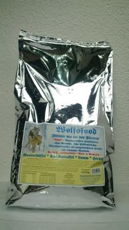Wolf sfood 12,5 kg Perros Forro de búfalo de agua dulce patatas Cordero ciervo cereales libre: Amazon.es: Productos para mascotas