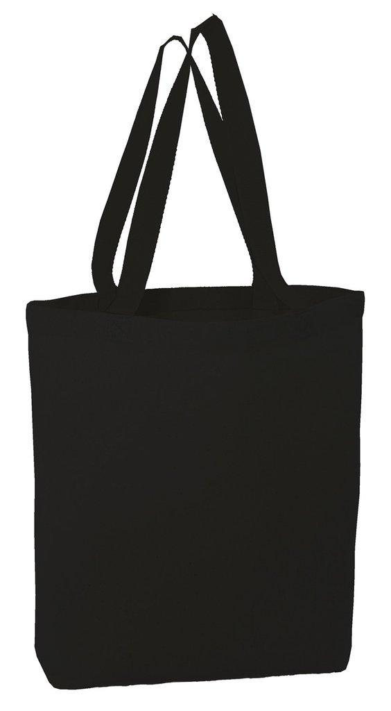 独創的 bagzdepot Heavy販促トートバッグキャンバスバッグ、天然またはブラック, 15