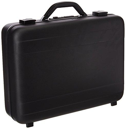T.Z. Case International T.z Molded Aluminum Attache Case, Black, 18 X 13 X 5