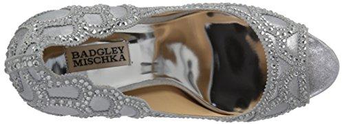 Silver Witney Women's Mischka Pump Badgley 6xXqwW07Ix