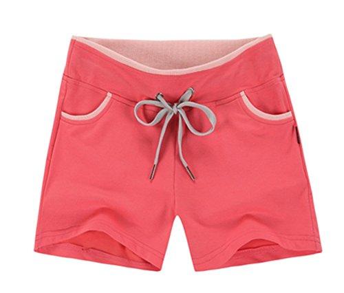 miuins Summer Korea Fashion 100% Cotton Drawstring Short Loose Female Fitness Shorts