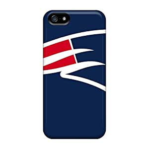 Durable Protector Cases Covers With New England Patriots Hot Design For Iphone 5/5s