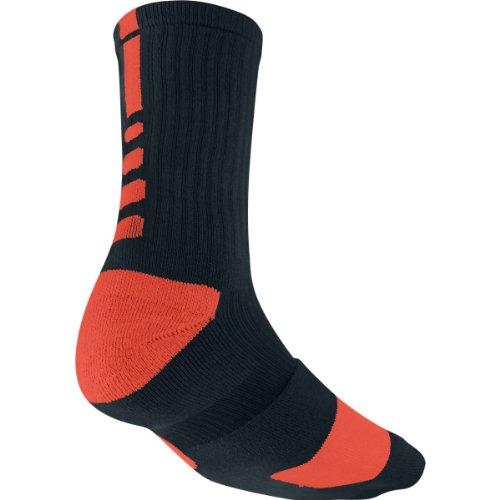 Nike Elite Socks (X-Large, Black/Orange)