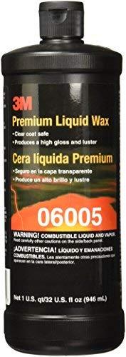 3M 06005 Premium Liquid Wax - 1 Quart