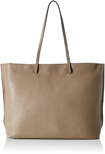 COCCINELLE Delphine - Bolso Mujer Varios colores (Taupe/fraise)