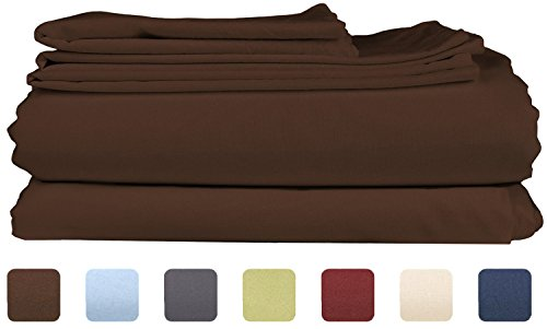 Throw Pillow Case Cover (Light Brown) Set of 3 - 3