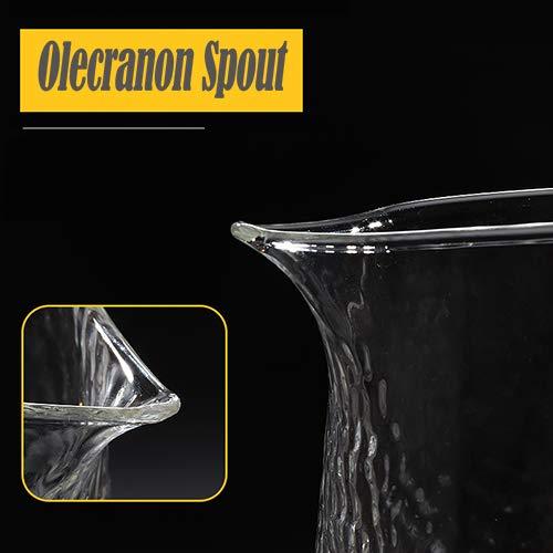 Allzweckkanne Karaffe f/ür Ihren Tisch G.a HOMEFAVOR Glaskaraffe 1800 ml Borosilikatkanne Wasserkrug mit Edelstahl Deckel