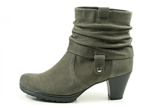 Gabor Shoes Comfort Basic, Botas para Mujer Gris (30 Anthrazit Micro)
