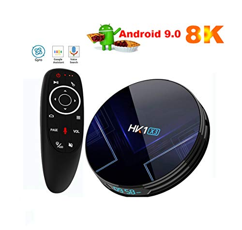 9.0 Android TV Box Smart TV Boxsets Quad-Core 4GB RAM 32GB ROM, 4K Ultra HD, Support Video Encoder for H.264, 2.4Ghz…