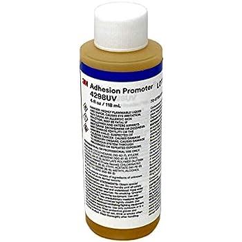 3M 4298UV Adhesion Promoter - Tape Primer 4 fl oz / 118 ml Bottle Only, No Felt Tip Dispenser