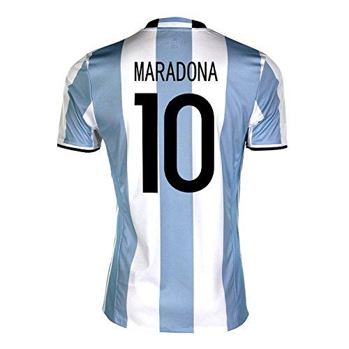 精査する場合関連付けるadidas Maradona #10 Argentina Home Soccer Jersey Copa America Centenario 2016 YOUTH/サッカーユニフォーム アルゼンチン ホーム用 マラドーナ ジュニア向け