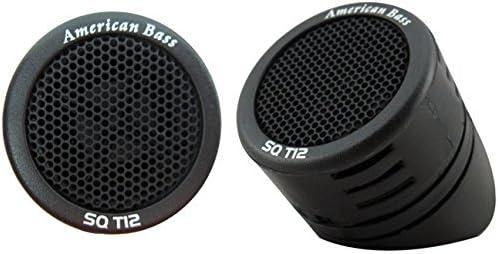 American Bass SQT12 2x1 Inch Tweeter 200 Watts -NEW-