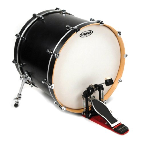 Daddario Coated Bass - Evans G1 Coated Bass Drum Head, 18 Inch