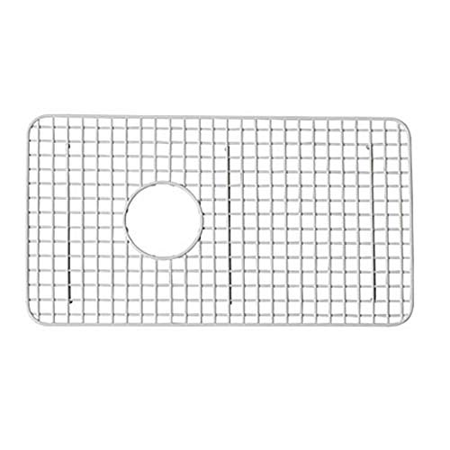 - Rohl WSG3018WH 14-5/8-Inch by 26-1/2-Inch Wire Sink Grid for RC3018 Kitchen Sinks in White Abcite Vinyl