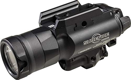 (SureFire X400 Ultra Masterfire X400UH-A-GN Ultra High Output White LED with Green Laser WeaponLight for Masterfire Rapid Deploy Holster, Black)