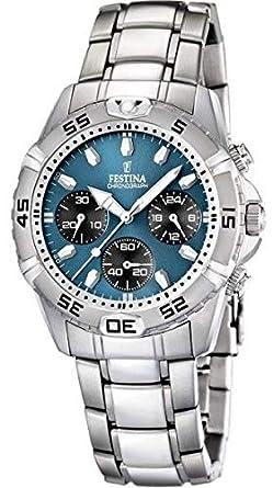 Amazon.com: Reloj hombre Festina – 16635/B – Cronógrafo ...