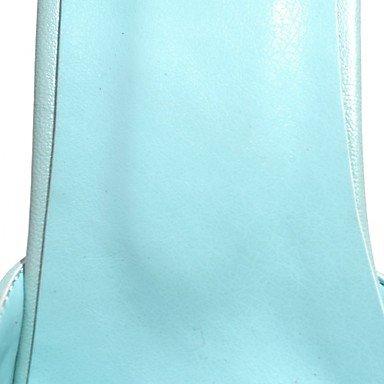 Innovador Pu Tacones Sintético ggx Lvyuan Boda Fiesta Y Verano Mujer Paseo Pedreríatacón Otoño Vestido Casual Noche Blue Confort UpqwAUyIY