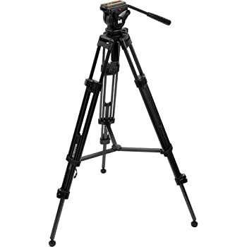 Magnus VT-4000 Professional High Performance Tripod System with Fluid Head