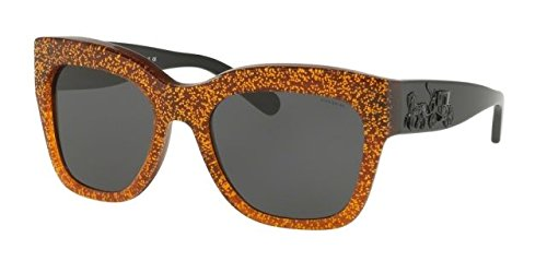 Coach Womens Sunglasses Brown/Grey Acetate - Non-Polarized - - Coach Frames Spectacle