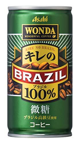 일본 아사히 캔커피 완다  키레노 브라질100% 미당 185g×30개