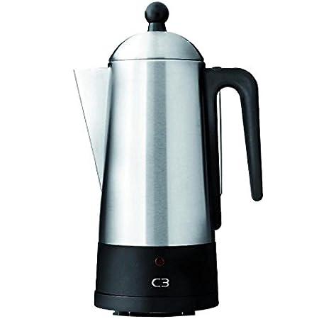 C3 30-32001 Design eco Cafetera de filtro, para 2-6 tazas, acero cepillado: Amazon.es: Hogar