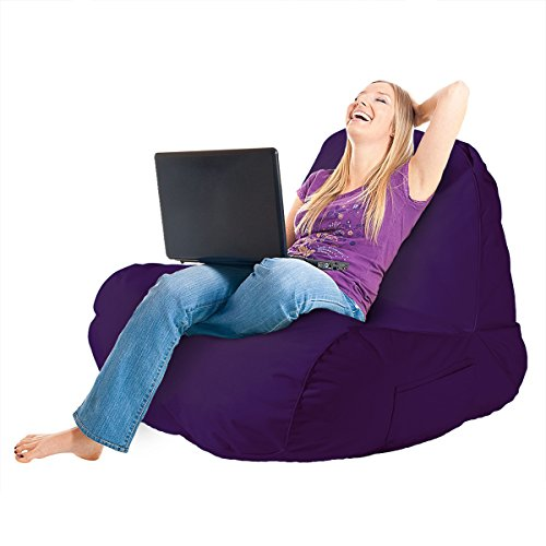 The Original Comfy Chair Indoor Outdoor Lounge Foam Filling Shade Gaming Adults Bean Bag Seat