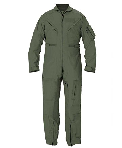 Propper Cwu 27/P Nomex Flight Suit,Sage Green,34 Regular (Propper Sage Green)