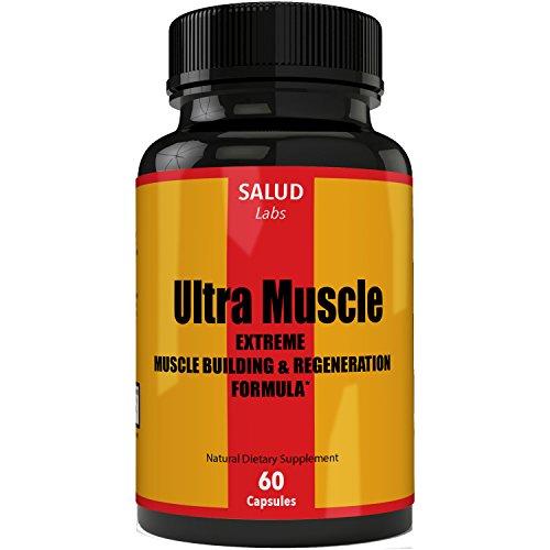 Extra Strength Suplemento Vitaminas Para Musculos | Suplementos Para Ganar Masa Muscular y Perder Grasa | Pastillas Para Aumentar Musculo | Capsulas Para Hombres Musculares