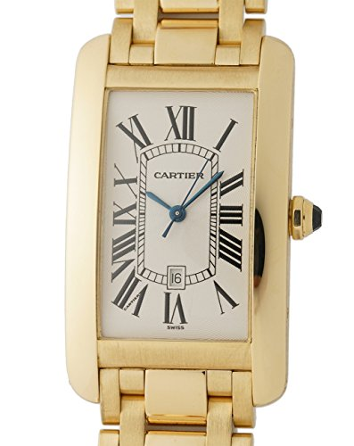 Cartier Tank Americaine automatic-self-wind mens Watch W26031K2 (Certified Pre-owned)