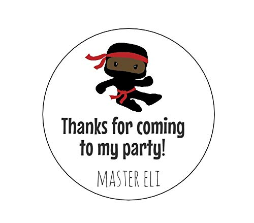 Amazon.com: Dark Skin Ninja Stickers - Set of 12: Handmade