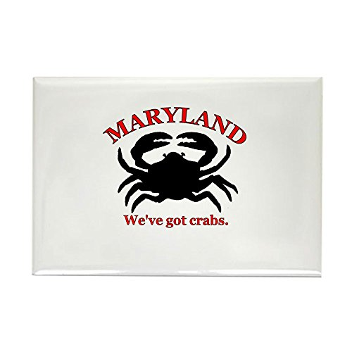 CafePress Maryland We've Got Crab Rectangle Magnet Rectangle Magnet, 2