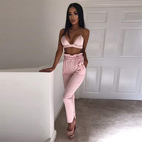 pink Sottile Con Allacciatura Pantalone Stringato Sijux Donna Da Lacci Con Agarizzati 0Z4T0qvn