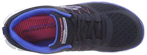 Skechers Flex Appeal - Zapatillas de deporte Mujer Azul (Nvbl)