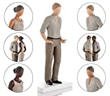 Wedding Cake Toppers Figurines. Mix & Match in ANY Combination and Choose from our Stunning Range of Beautiful Brides and Grooms. Also Perfect for Engagement & Anniversary Cakes. Light Skin Tone Male