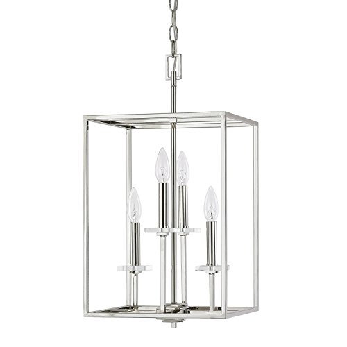 Light Chandelier Capital Lighting - Capital Lighting 7001PN Four Light Foyer Fixture