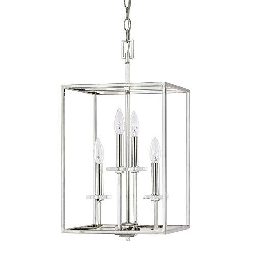 (Capital Lighting 7001PN Four Light Foyer Fixture)