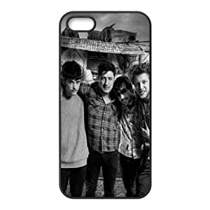 Mumford and Sons iPhone 5 5s Cell Phone Case Black fssu