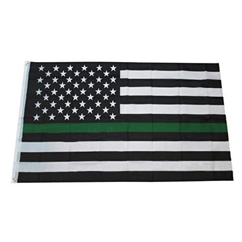 Thin Blue Line Flag - World's Finest Wall Flag Free Personal